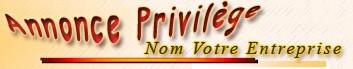 Annonce Privilège